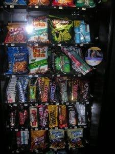Hostel vending machjine