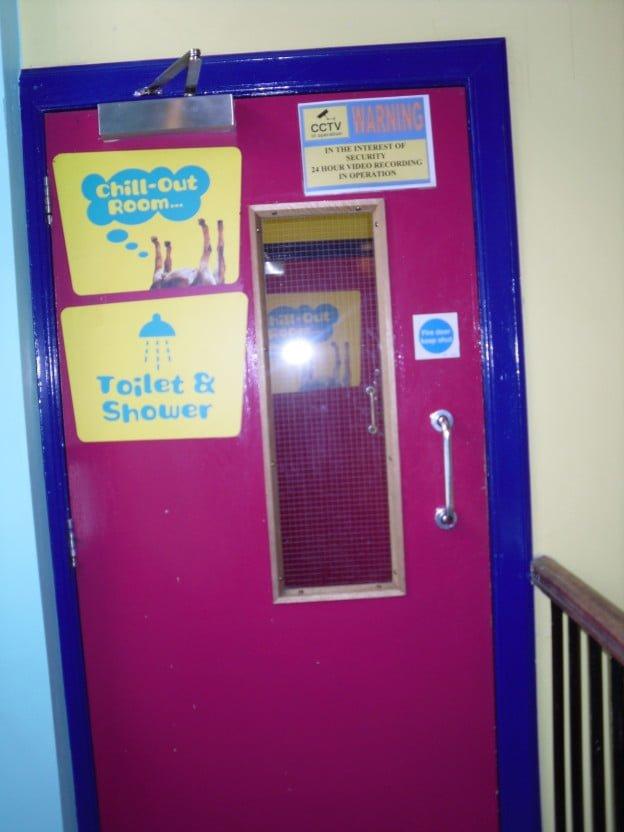 Hostel Door