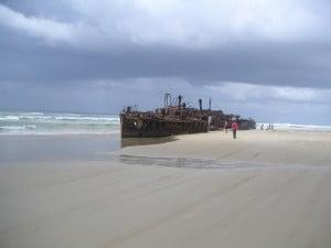 Shipwreck Fraser Island