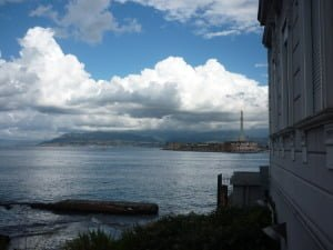 Messina Port view