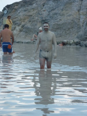 Me in the mud bath