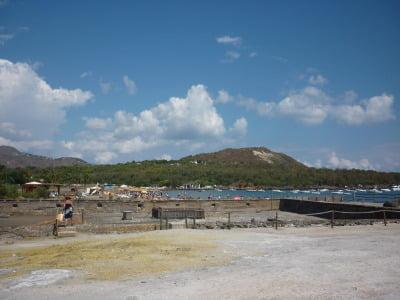 Vulcano view mud bath