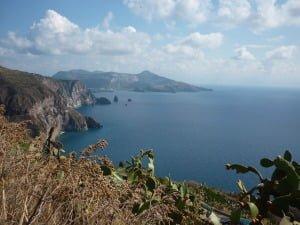 View from Lipari - Aeolian Islands Sicliy