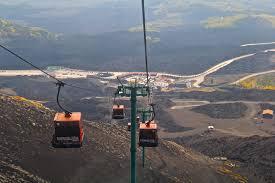 Mt Etna Sicily - Cable car