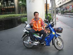 thai motor bike taxi