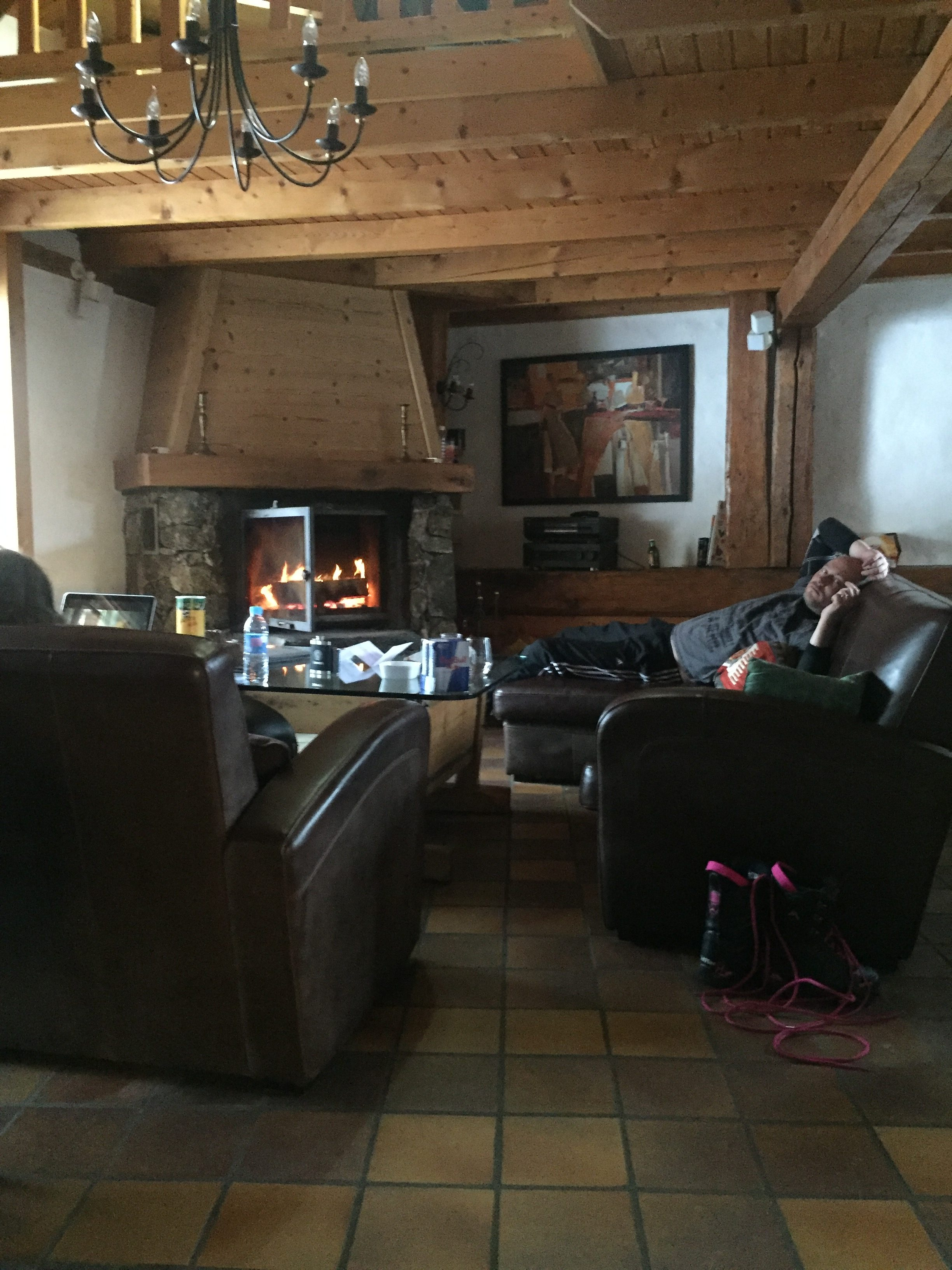 Lounge Room – Chalet Mouette
