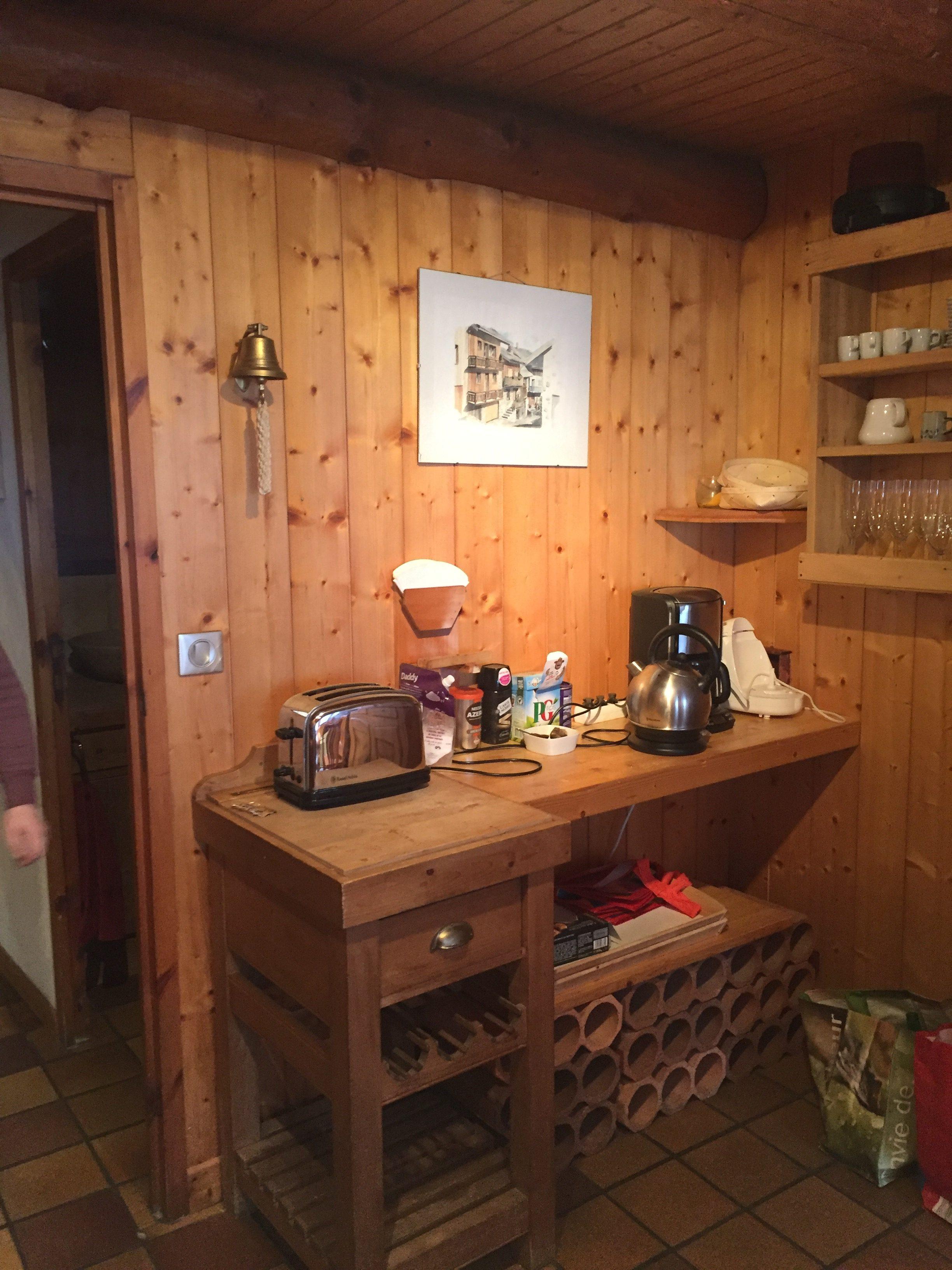 Kitchen – Chalet Mouette