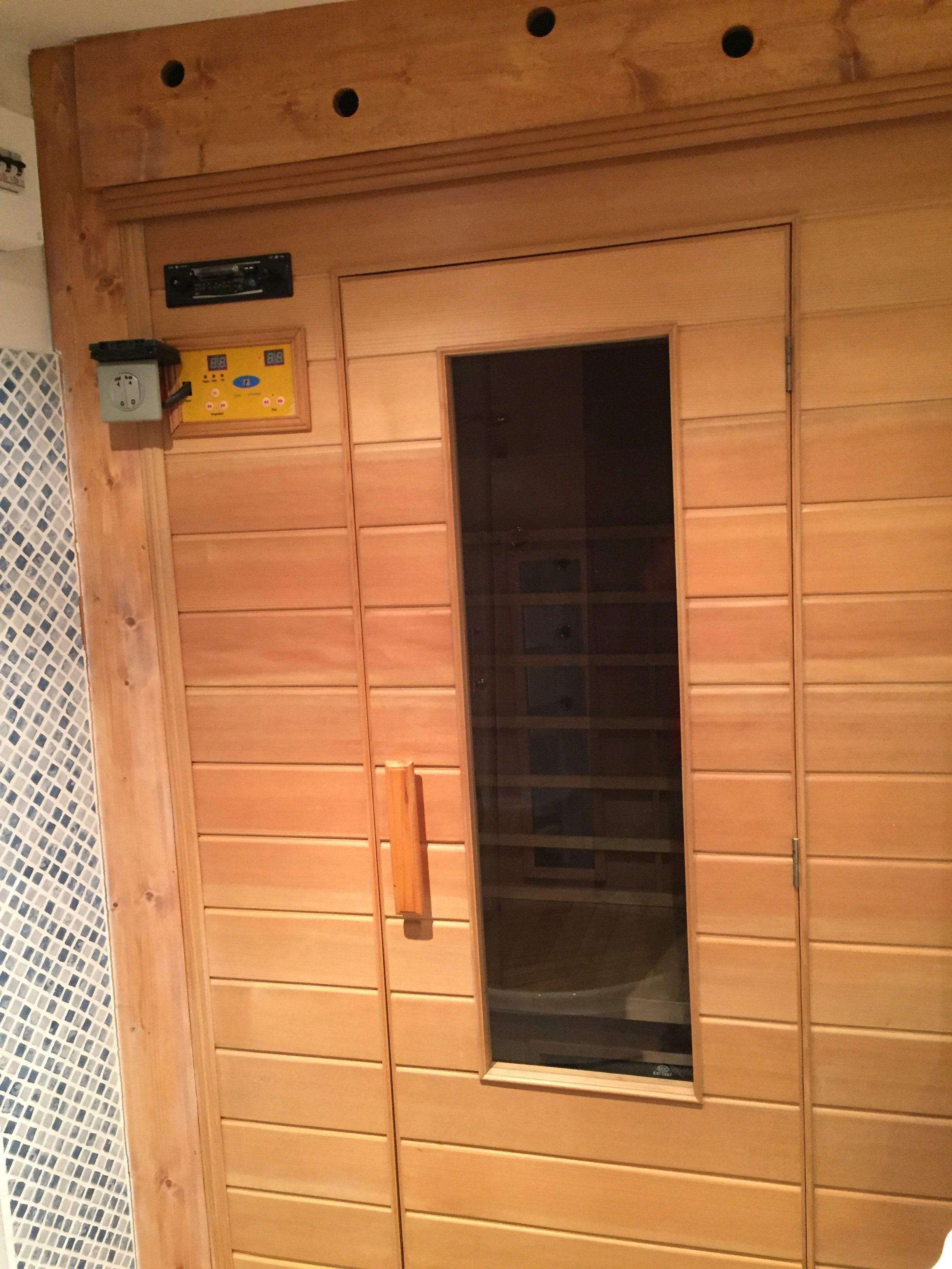 Sauna – Chalet Mouette