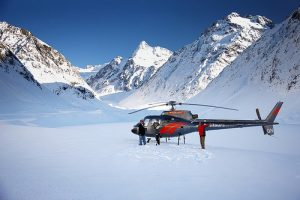 Helicopter landed on glacier - Top 10 bucket list activities