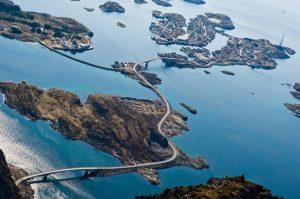 Norway road over the sea  - top 10 bucket list activities