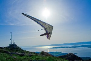 hang gliding - top 10 bucket list activities