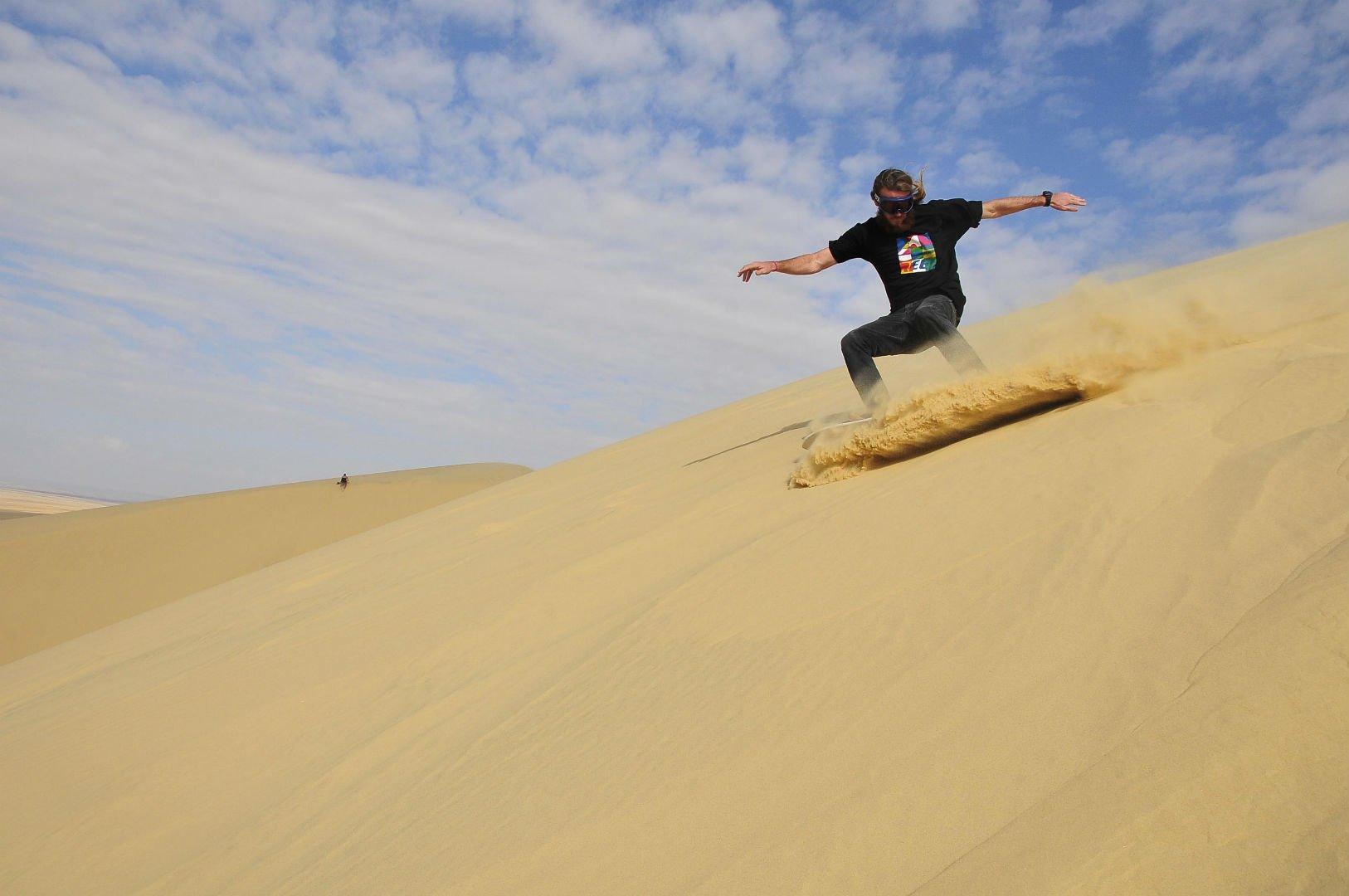 sandboarding - top 10 bucket list activities