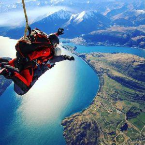 skydive - top 10 bucket list activities