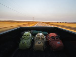 Backpacks on the Road
