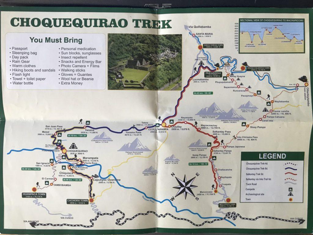 Trekking in Peru - Choquequirao