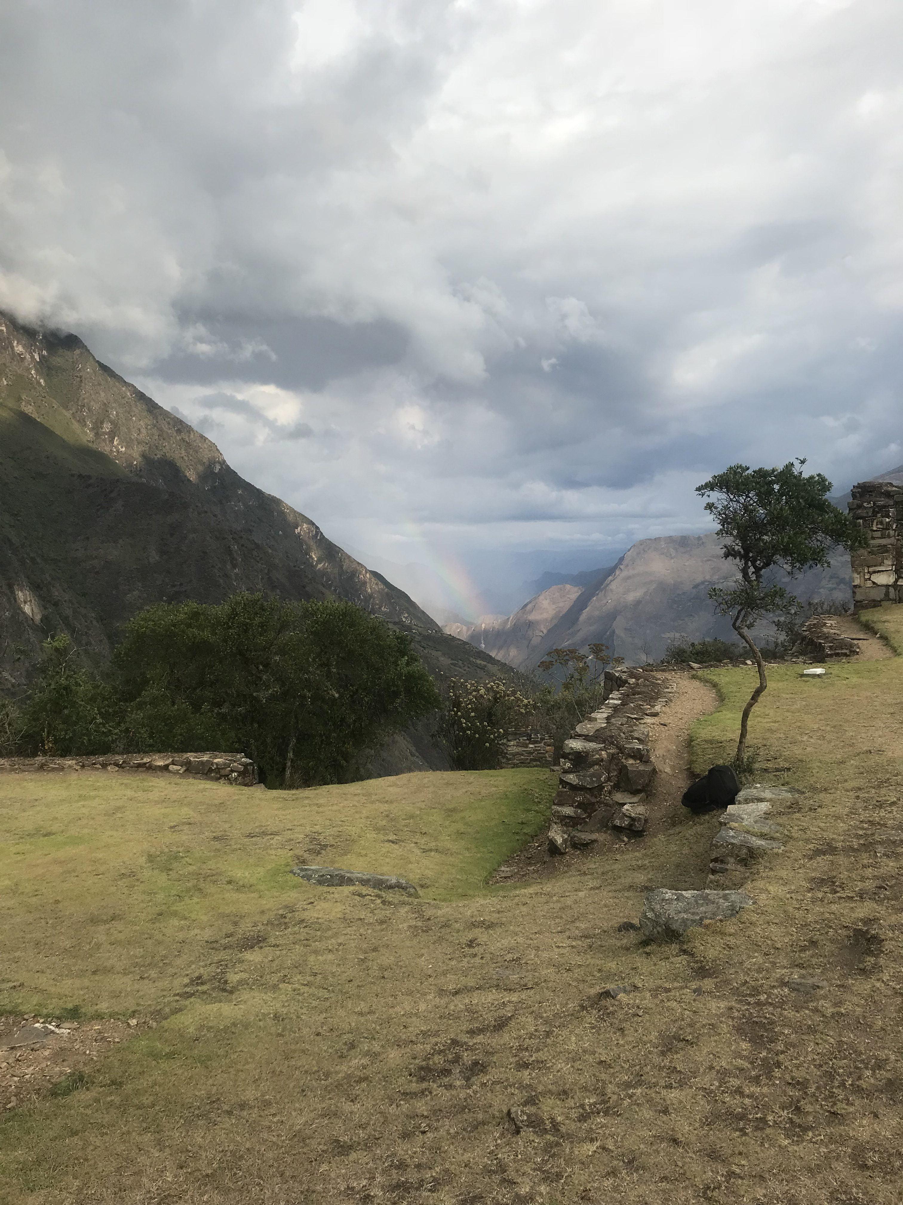 Choquequirao trail day 2