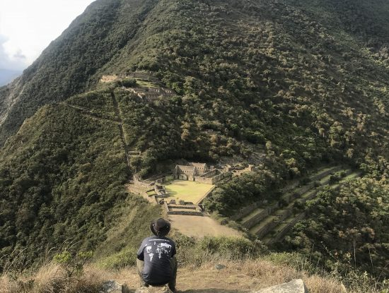 Choquequirao trail day 2